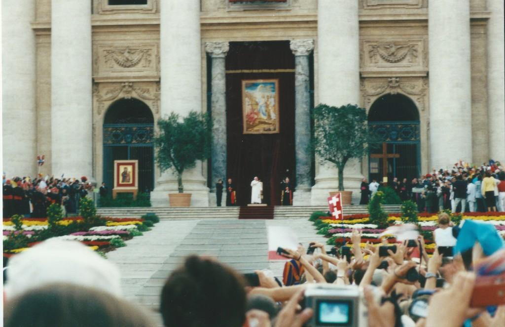 WYD 2000 Pope John Paul II