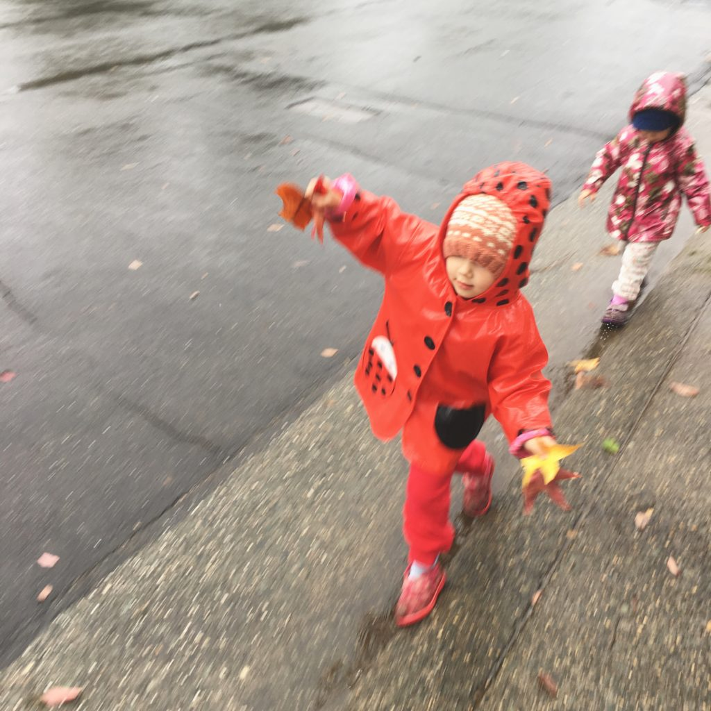 playing in the rain - Oct 2016