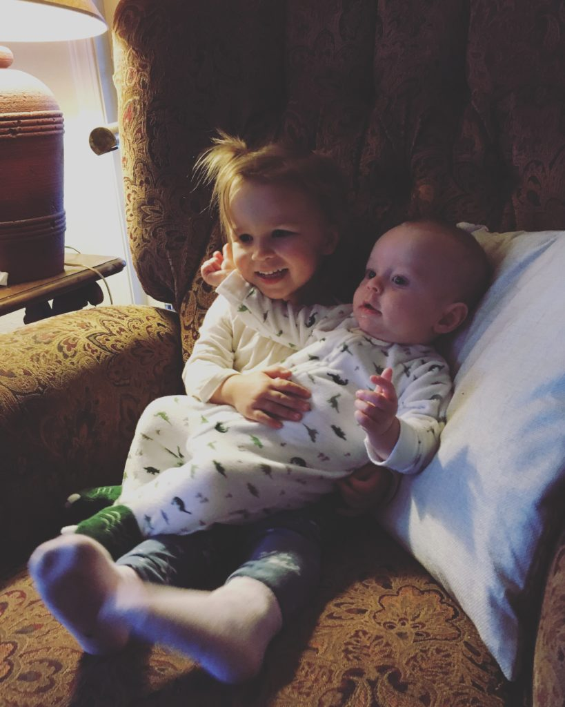 cousins holding cousins - Nov 2016
