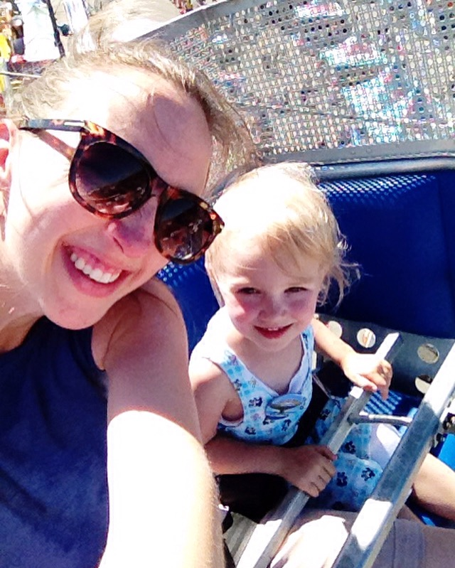 first ferris wheel ride - July 2016